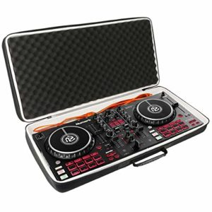 Khanka Dur Cas étui de Voyage Housse Porter pour Numark Mixtrack Pro 3 Contrôleur DJ pour Serato DJ