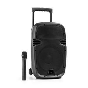 Malone Bushfunk 25 Enceinte Sono Active 10″ (Bluetooth, Port USB SD, châssis ABS, Lecture MP3, VHF, 500W, entrée RCA)