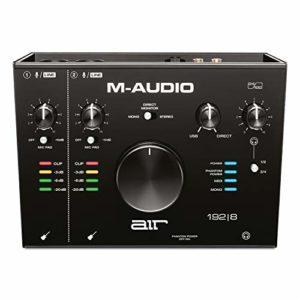 M-Audio AIR 192|8 – Interface Audio/MIDI USB/USB-C 2 Entrées /4 Sorties avec Logiciels : ProTools|First, Ableton Live Lite, Eleven Lite et Avid Effects Collection, Plus FX & VIs d'AIR Music Tech