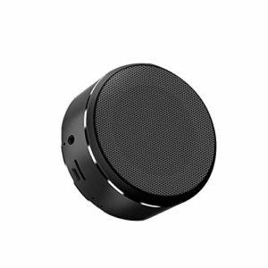Mini Haut-Parleur Portable Avec Une Excellente Puissance Sonore, Microphone Intégré, 5 Heures De Temps De Jeu Universel