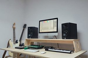 Music Studio Support pour écran 130 x 30 x 15 cm