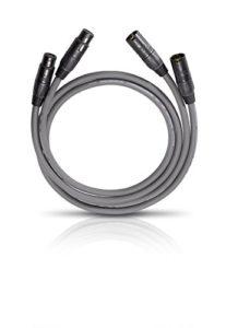 Oehlbach NF 14 Master Set Câble XLR 2 x 4,25 m Noir