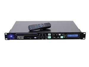 Omnitronic 057294 CMP-102 Lecteur MP3/CD Noir