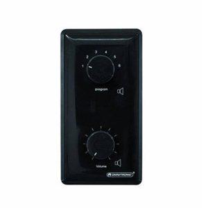 Omnitronic 061164 PA Contrôleur de volume/Sélectionner de Programme mono 5 W Noir