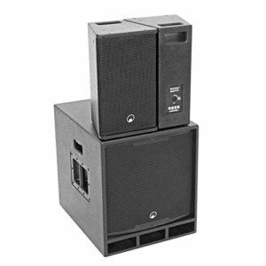 Omnitronic MAXX-1508DSP 2.1 Système audio actif PA 700 W DJ Disco