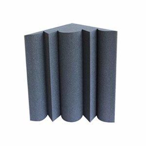 Panneaux acoustiques d'angle de mur, coton insonorisant de réduction de bruit de ménage de studio d'enregistrement d'hôtel de chambre à coucher (Couleur : C)