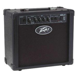 Peavey Solo Guitar Ampli Combo pour Guitare électrique 15 Watts Noir