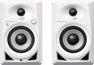 Pioneer Dj Dm-40Bt-W Moniteurs de Studio Bluetooth, Blanc