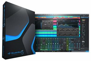 PreSonus Studio One 5 Mise à niveau de la carte de téléchargement physique Professionnel/Producer Version (S15 PRO UPG CARD)