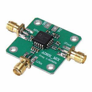 QinMei Zhou AD831 Convertisseur de fréquence à haute fréquence pour mixeur HF VHF/UHF 0,1 à 500 MHz