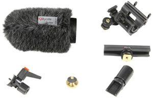Rycote 116010 Kit Bonnette pour Micro DE CAMERA Classic-Softie, trou 19-22mm, long. 120mm