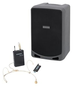Samson EXPEDITION XP106WDE – Sonorisation portable – 100W – Bluetooth – micro sans fil USB STAGE XPD1 Headset inclus