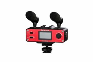 Saramonic smartmixer Professional Recording Stereo Microphone Rig for iPhone & Android Smartphone