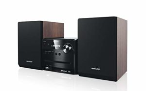 SHARP XL-B510 Système Micro Sound System 40 W, Bluetooth et USB Playback, Marron