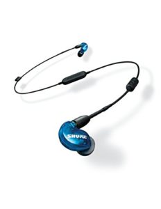 Shure SE215SPE-B-BT1-EFS Shure Écouteurs Sound Isolating sans fil SE215 Special Edition, Bleu