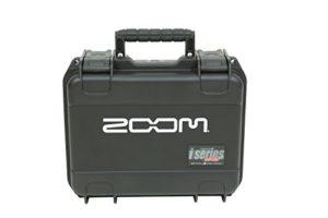 SKB 3I-1209-4-H6B Mallette moulée par injection pour enregistreur Zoom H6 avec fente microphone Shotgun