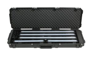 SKB 3I-5014-LBAR Etui étanche fabriqué par moulage à injection Mil-Std pour Barre d'éclairage LED Noir