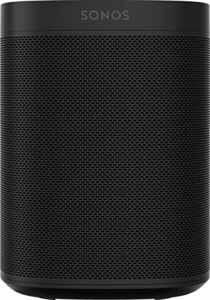 Sonos One Smart Speaker Noir – Enceinte Wi-Fi intelligente avec commande vocale Alexa & AirPlay – Multiroom Speaker pour un streaming de musique illimité