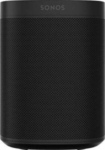 Sonos One Smart Speaker Noir – Enceinte Wi-Fi intelligente avec commande vocale Alexa & AirPlay – Multiroom Speaker pour un streaming de musique illimité