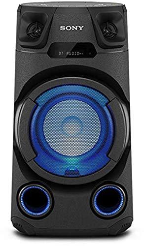 Sony MHC-V13 | Système Audio Portable High Power Bluetooth, Lumières Multi-Couleurs, Jet Bass Booster, idéal pour la fête