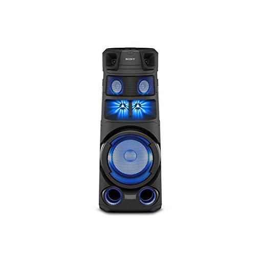 Sony MHC-V83 | Système Audio Portable High Power Bluetooth, Son et Effets Lumineux omnidirectionnels, idéal pour la fête