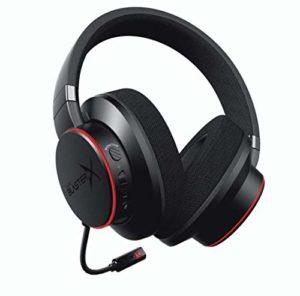 Sound BlasterX H6 – Casque de jeu 7.1 USB pour PS4, Xbox One, Nintendo Switch et PC (Noir)
