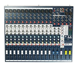 Soundcraft Table de mixage 12 canaux EFX12