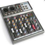 Table DE MIXAGE Mixer DJ USB 4 CANAUX Lecteur USB MP3 Carte SD Echo Delay MICR
