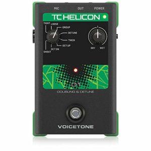 TC Helicon VoiceTone D1en Doublant et Detune amplis