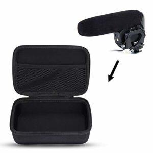 VBESTLIFE Sacoche de Protection de Microphone, Housse de Rangement en Nylon pour Les Microphones de Taille Comparable Compatible avec Rode VideoMic Pro/Plus etc