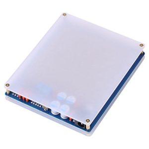 Vipxyc Générateur d'impulsions Ultra-Basse fréquence, générateur d'impulsions de résonance d'onde 7.83HZ Schumann, générateur de Source de Signal numérique Haute précision DC12V