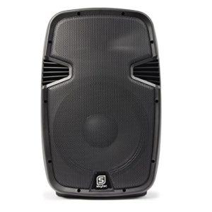 Vonyx SPJ-1500A Enceinte Active 15″ 800 Watts, Enceinte Amplifiée, Sonorisation Professionnelle, Boitier ABS Solide, Haut-Parleur Mobile, Woofer 15 Pouces, Entrée Ligne Micro