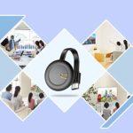 Yinuoday Dongle D'affichage sans Fil Dongle D'affichage Wifi 4K Récepteur D'affichage Hdmi sans Fil avec Antenne Intégrée