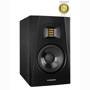 Adam Audio T5 V 12,7 cm Active Monitor de proximité (simple) avec en microfibre et gratuit Everythingmusic Garantie 1 an