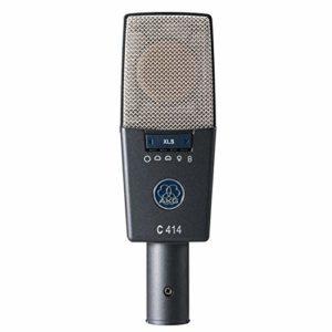 AKG C414 XLS Microphone Gris, Argent
