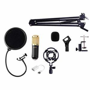 BESPORTBLE Bm-800 Kit de Microphone à Condensateur Professionnel Kit de Microphone USB Micro Denregistrement de Diffusion de Studio