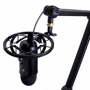 Blue Radius III suspension antichoc personnalisée pour les microphones Yeti/Pro