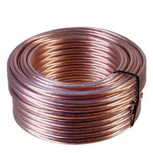 câble pour Haut-Parleur 0,2 (4.0 mm² – 20 m, Transparent)