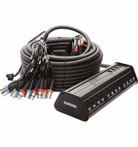 Cordial Multicore Audio Stagebox System Multipaires/boîtier de scène CYB 24-8 C