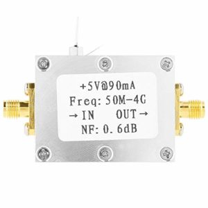 Dasing LNA à Faible Bruit 50M-4GHz NF = 0,6 DB Amplificateur RF FM HF VHF/UHF Module Radioamateur Radio -110DBm