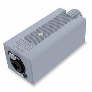 Donner EM1 Amplificateur pour Casque Portable Rechargeable Amplificateur de moniteur intra-auriculaire Ampli casque stéréo Contrôle du volume Amplificateur audio