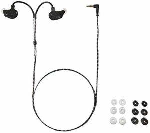 Fender IEM Écouteurs intra-auriculaires moniteur Ten 5 Flate Black