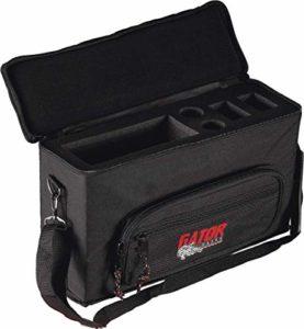 GATOR Cases GM-2W softcase pour un système HF complet et deux micros