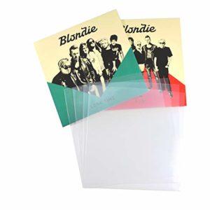 Grazzsrecords Lot de 200 pochettes de protection pour disques vinyles 45 tours Polyéthylène 17,8cm