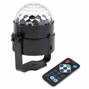 HomeDecTime 1 Pc Disco Party Lights Stage LED RGB Ball KTV Bar Club Lampe de Danse Intérieure UK