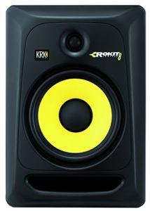KRK Rokit 8 G3 100W Noir Haut-Parleur – Hauts-parleurs (2-Voies, avec Fil, XLR, 100 W, 35-35000 Hz, Noir)