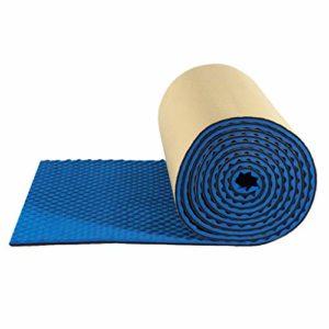 Les panneaux acoustiques absorbant le son coton, l'isolation acoustique Cotton acoustique en mousse ignifuge Carreaux absorption acoustique et de réduction du bruit Santé de l'environnement, 10 mètre