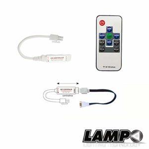 lmokit-rgb/mini-s/Conv Mini Kit RGB de très faibles dimensions DC 5–24V 12V < 80W 24V < 160W 15m IP 20