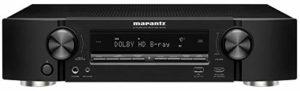 Marantz NR1510 Récepteur AV Ultra HD 4 K avec Heos intégré et Commande vocale Alexa Noir