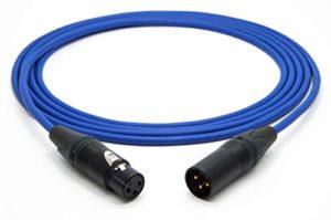 Mogami 3080 Câble Numérique AES/EBU 110 Ohm | Neutrik Gold XLR Femelle – XLR mâle | HiFi 1,0 m